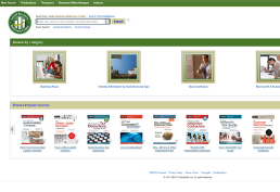 Small Business Center homepage