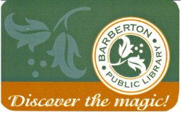 Barberton Public Library library card